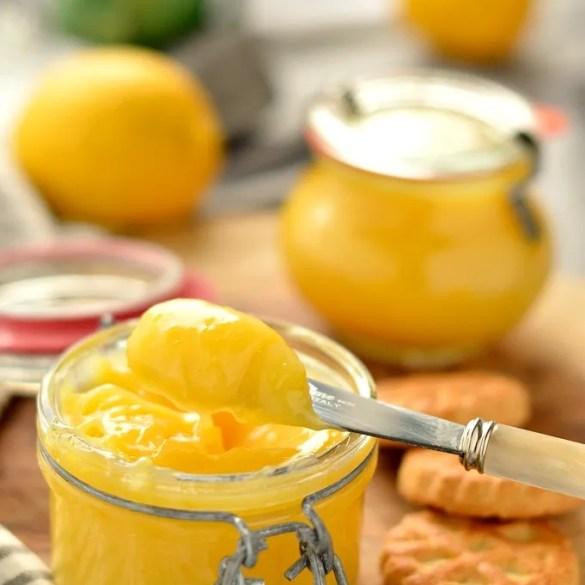 Lemon curd (crema di limone)