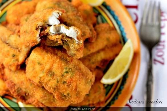 Cotolette di pesce spatola alla siciliana