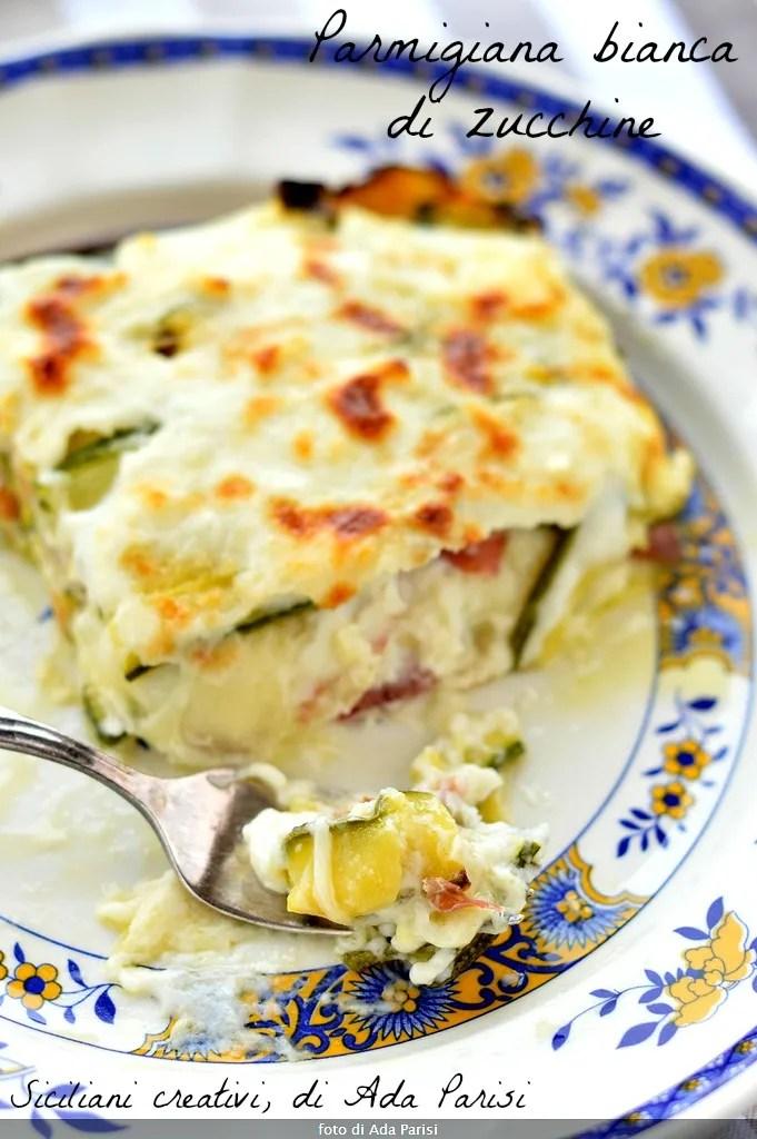 weiß Zucchini parmigiana