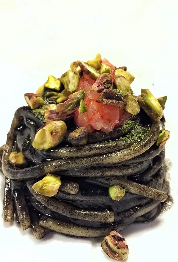 Menú degustación en Osteria Fernanda en Roma