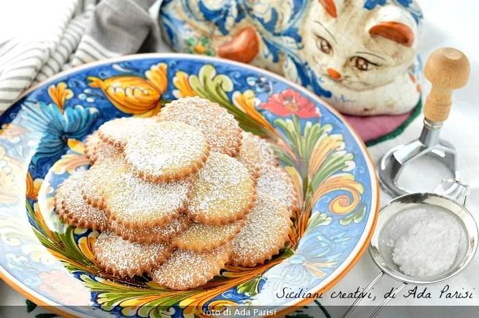 Galletas de Argelia, plato de Palermo
