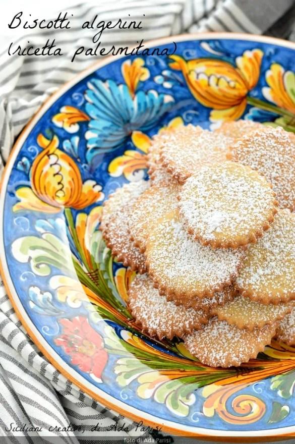 Algerian Biscuits, con marsala e strutto nell'impasto