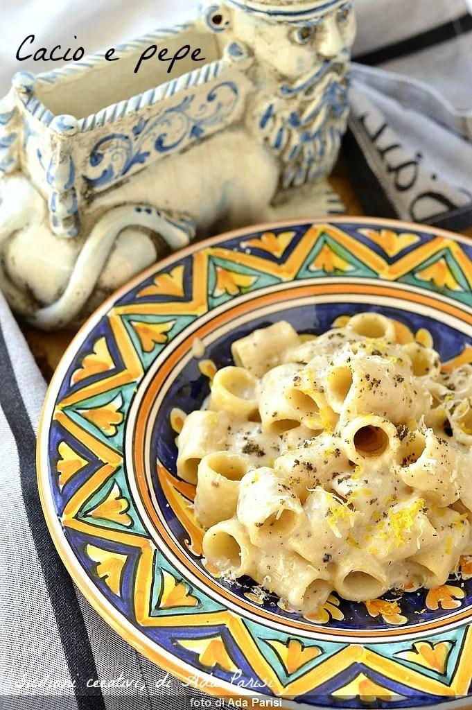 Fromage et poivre: recette originale romaine