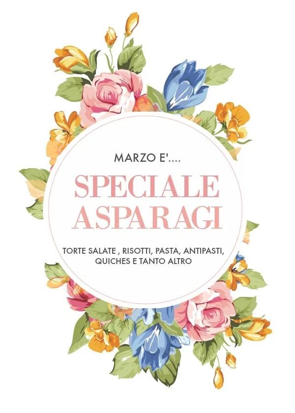 Speciale ricette con asparagi: aria di primavera