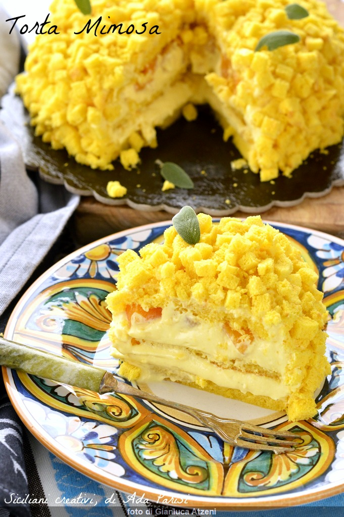 Mimosa Cake: a great classic of Italian pastry