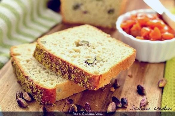 Pane in cassetta al pistacchio di Bronte