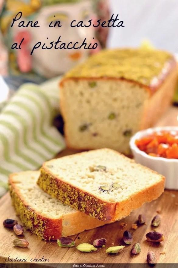 Pan de pistacho
