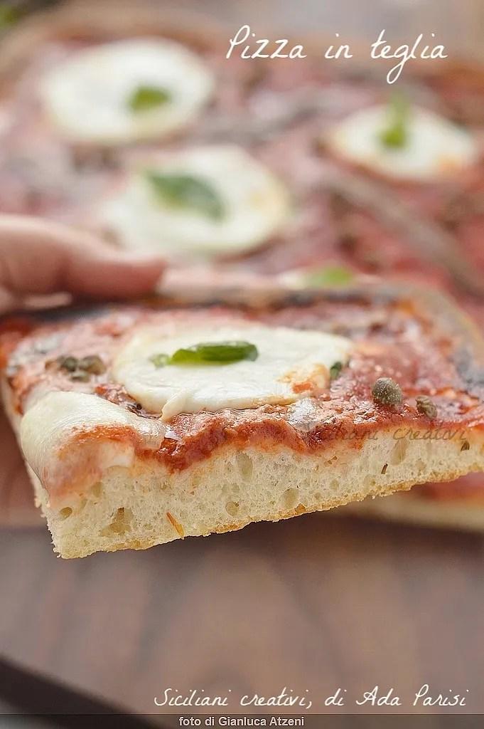Pizza casera para hornear