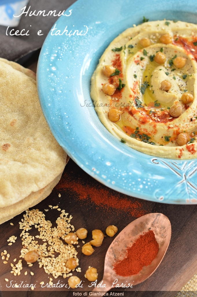 Hummus di ceci e tahini