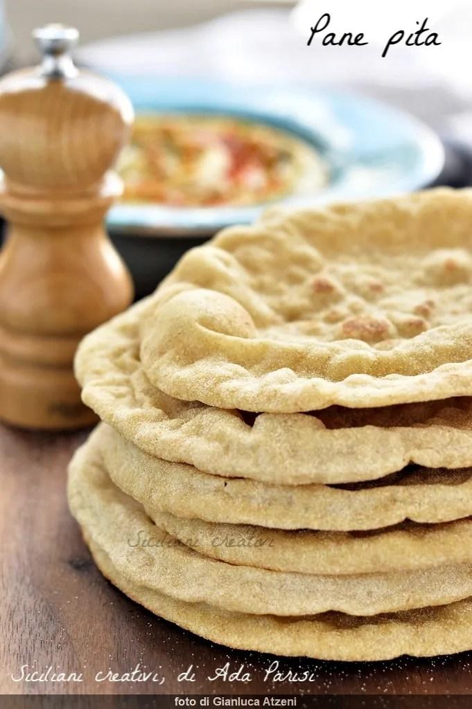 Pan Pita o pan árabe
