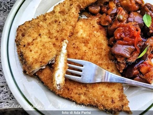 Cotolette di pesce spada alla siciliana