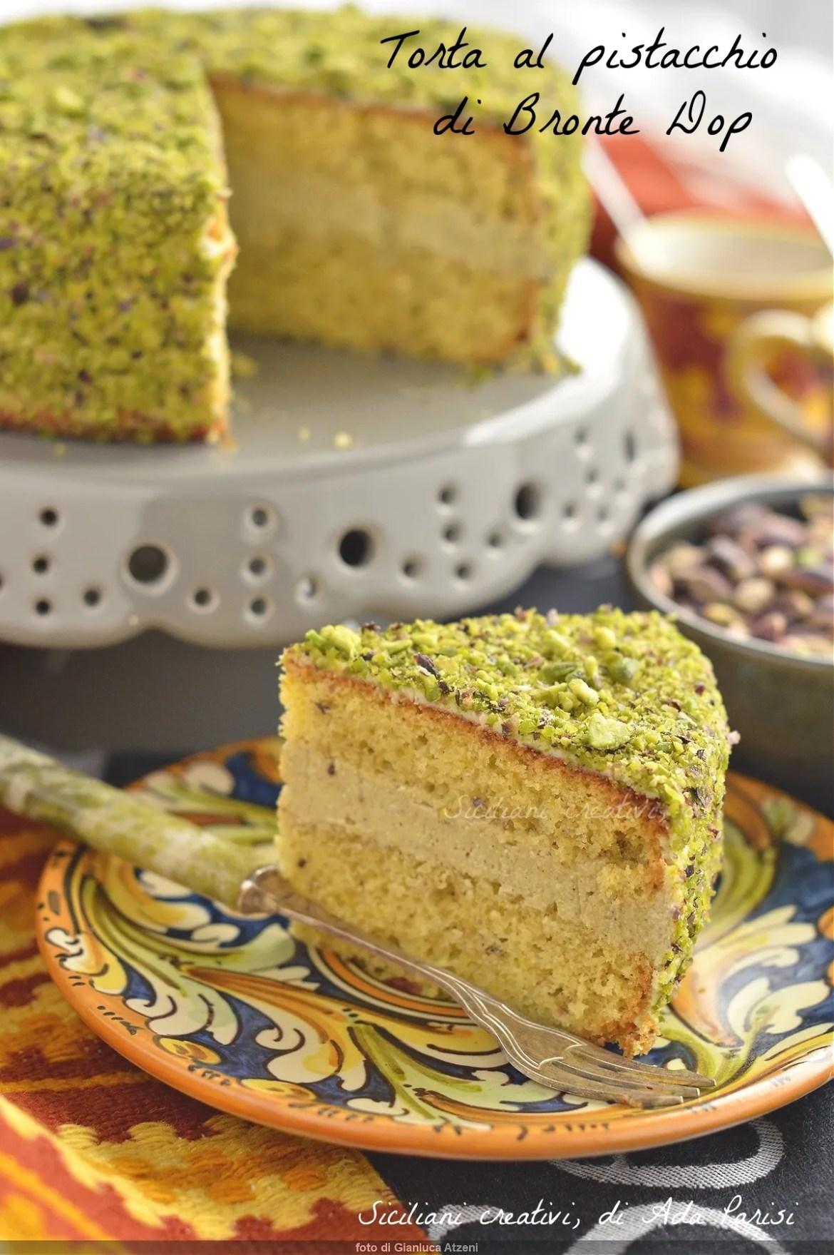 Gâteau à la pistache Bronte Dop