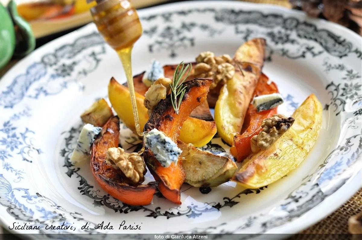 Ricette Con Zucca Hokkaido.Zucca Hokkaido Al Forno Siciliani Creativi In Cucina