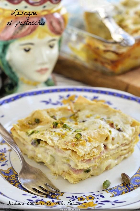 Pistazien-Lasagne