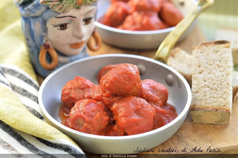 Boulettes de viande de sauce sicilienne