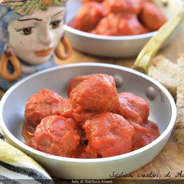 Polpette al sugo alla siciliana