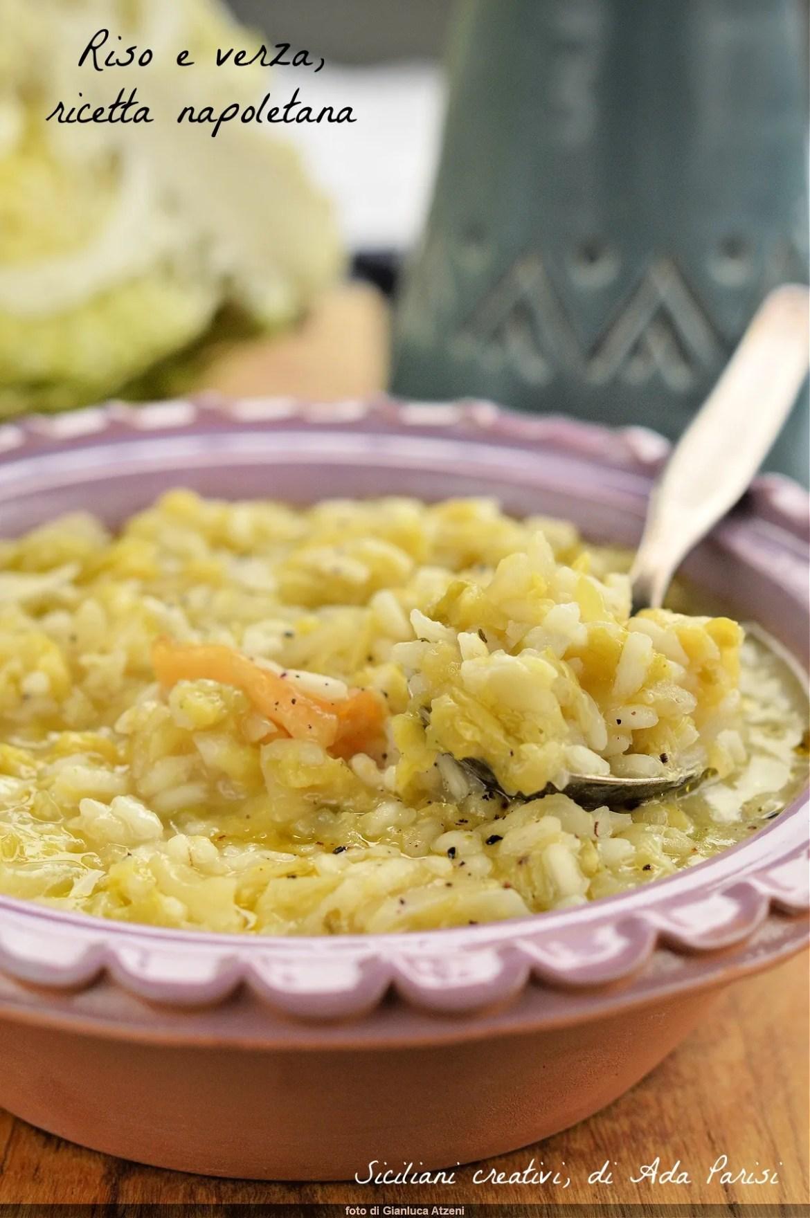 Neapolitanischer Reis und Kohl