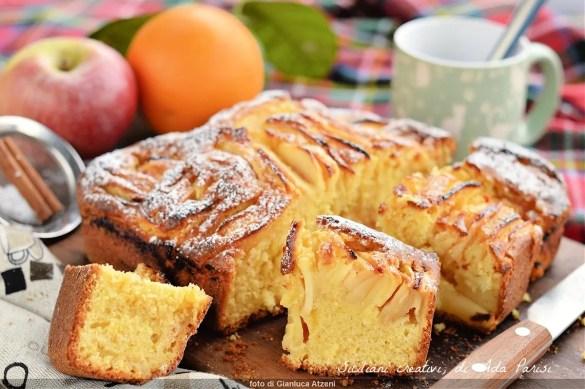 Fluffy melarancia cake