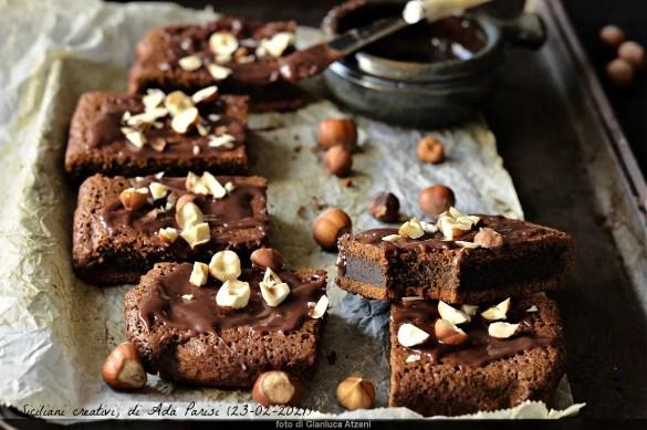 Brownies light al caffè
