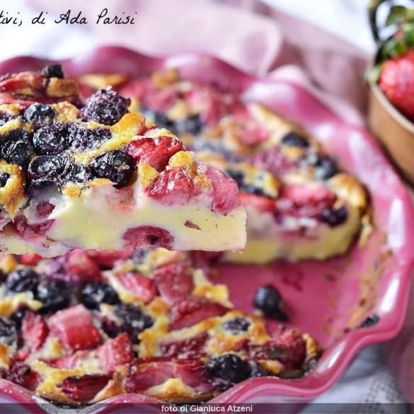 Clafoutis ai frutti di bosco