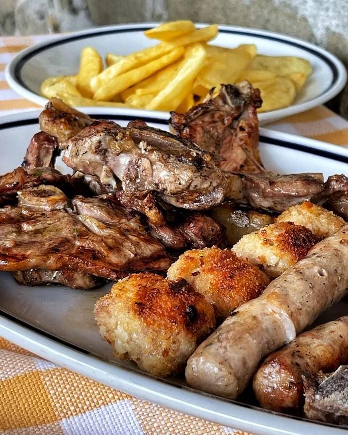 Borrello Farm, Black Pig Osteria: das Fleisch