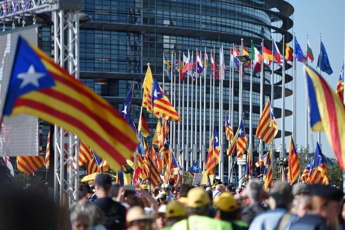 PARLAMENTO EUROPEO: NEGATO AI CATALANI