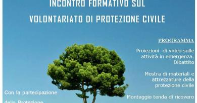 #Catania. Il volontariato di Protezione Civile a Villa Fazio