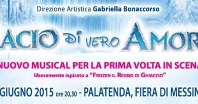 """#MessINdanza. Questa sera il musical """"Bacio di vero amore"""" ispirato a Frozen"""