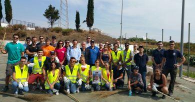 #Catania. Militari americani e volontari ripuliscono gli esterni di Villa Fazio