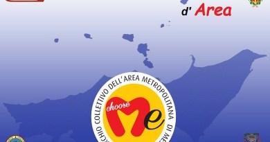 """#Messina. """"Choose Me"""", presentato il logo dell'area metropolitana"""