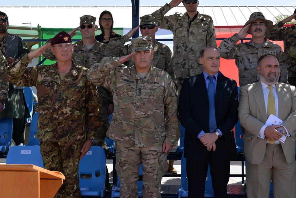 La Brigata Aosta  prende il comando del contingente in  Afghanistan