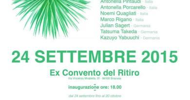 #Siracusa. Artisti italiani e tedeschi in mostra all'Ex convento del Ritiro