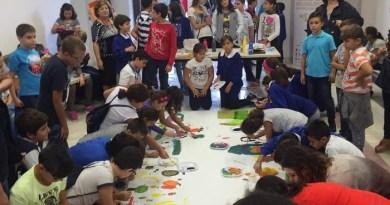 #Barcellona. L'amministrazione incontra i piccoli artisti del Progetto Expo 2015