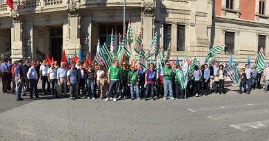 #Messina. Presidio di Cgil, Cisl e Uil per la vertenza nazionale sulle pensioni