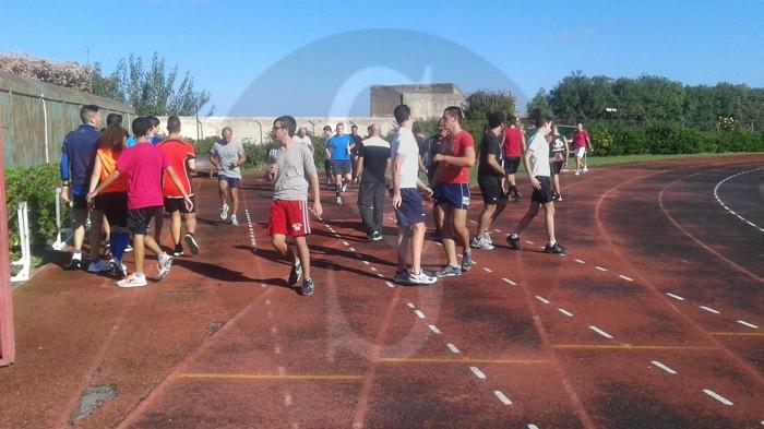 #Barcellona. Raduno di arbitri AIA allo stadio D'Alcontres