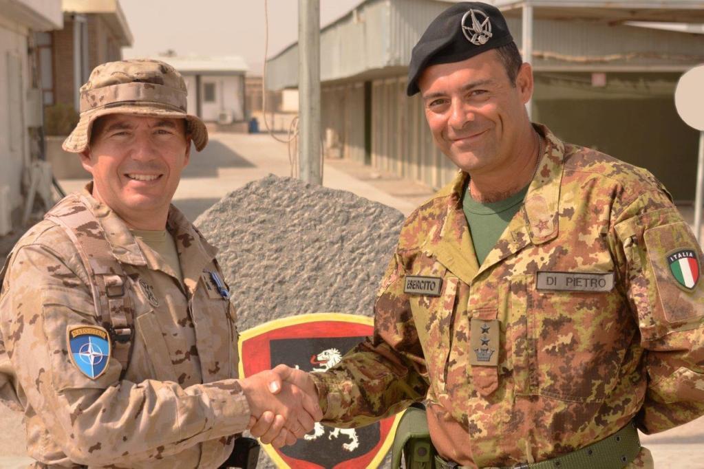 Il reggimento fanteria Aosta assume la responsabilità della sicurezza ad Herat
