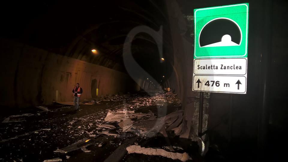 #Messina. Si ribalta un tir sulla Messina-Catania. Traffico in tilt