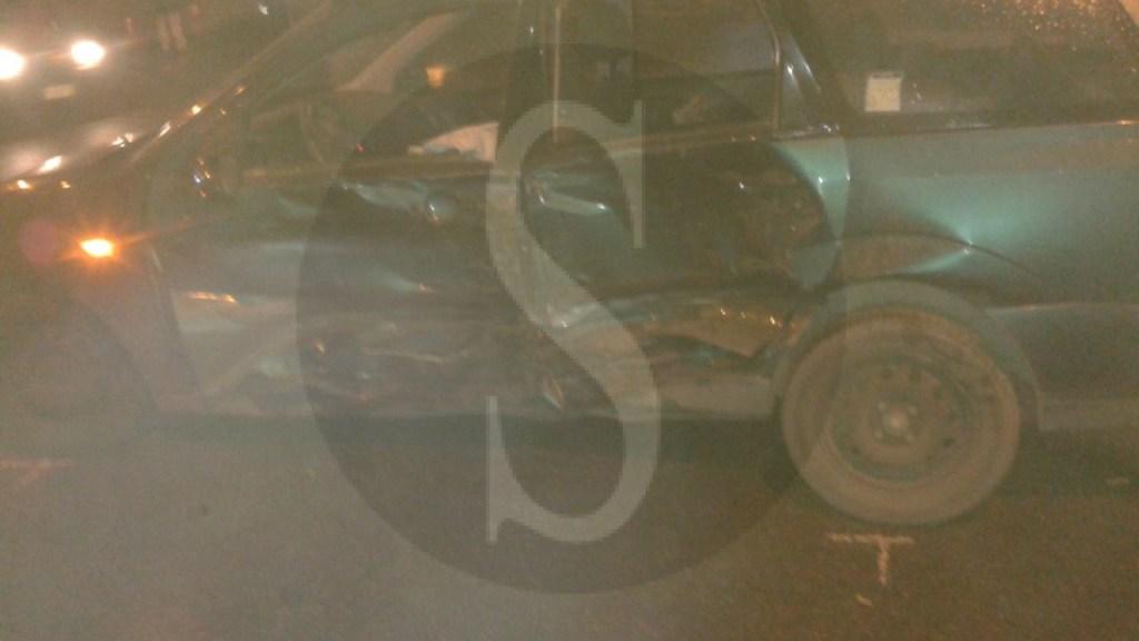 #Barcellona. Impatto violento tra due auto sul Ponte Longano