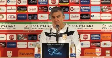 """#Calcio. Messina-Foggia, Di Napoli: """"Affronteremo i pugliesi con coraggio"""""""