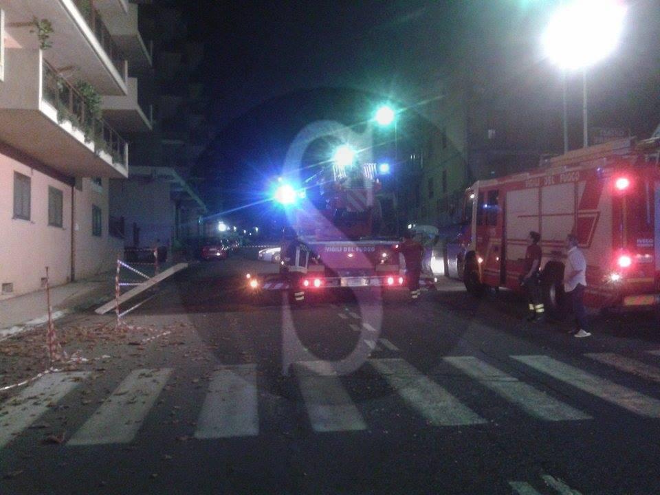 #Messina. Scirocco, cadono tegole in via P. Castelli