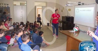 #Volley. A Barcellona la pallavolo va a scuola
