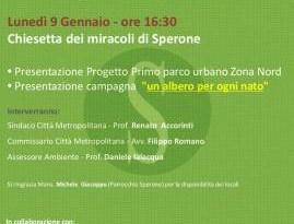 #Messina. Presentazione dei progetti Recuperiamosperone e Un albero per ogni nato