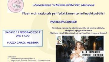 #Messina. Allattare, ovunque lo si desidera: domani flash mob a Messina