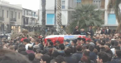 #Barcellona. Una folla commossa ha dato l'ultimo saluto ad Aurelio Hasaj