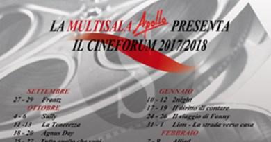 #Cinema. Messina, al via il Cineforum della Multisala Apollo