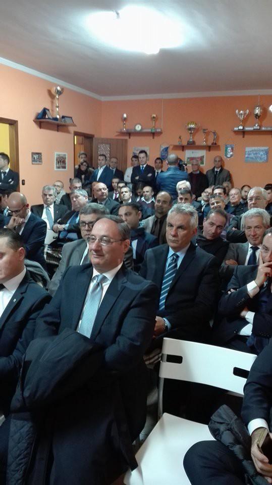 Sport. Gli arbitri barcellonesi hanno festeggiato i  40 anni della sezione con Marcello Nicchi