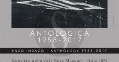 Arte. A Noto Antologica 1958-2017, personale di Enzo Indaco