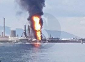 Cronaca. Incendio alla Raffineria di Milazzo: ferito un lavoratore
