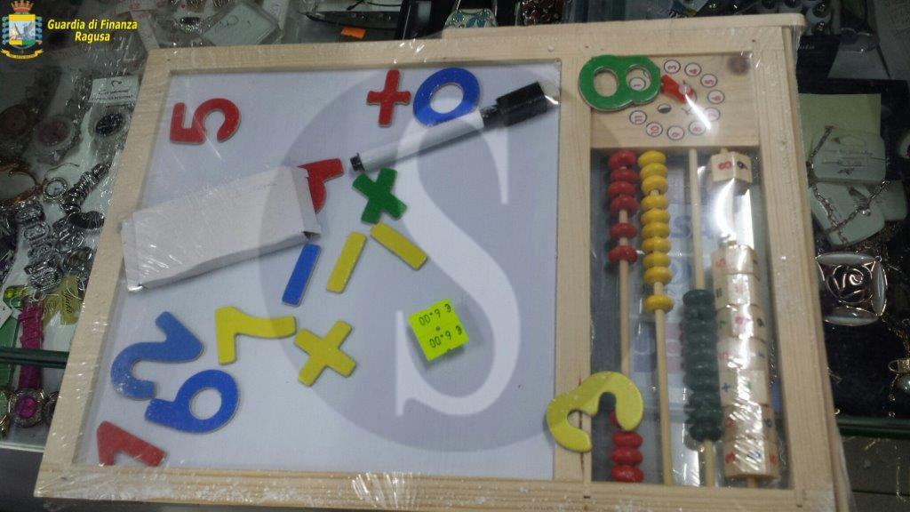 Cronaca. Maxi sequestro di giocattoli pericolosi a Ragusa