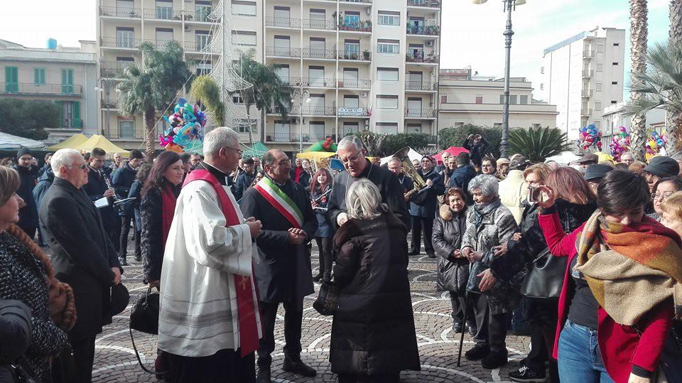 Cronaca. In corso a Barcellona i festeggiamenti di San Sebastiano, le foto dei lettori